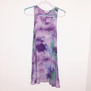 Umgee Tie-dye Tank Dress or Tunic - M